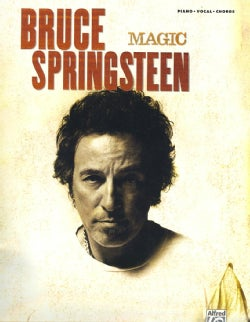 Bruce Springsteen Magic: Piano/Vocal/Chords (Paperback)