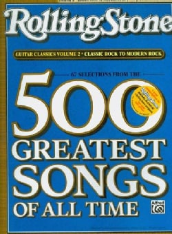 Rolling Stone 67 Selections From The 500 Greatest Songs Of All Time: Classic Rock to Modern Rock, Easy Guitar Tab (Paperback)