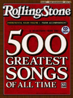 Rolling Stone 12 Selections from the 500 Greatest Songs of All Time: Instrumental Solos: Piano Accompaniment