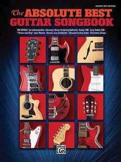The Absolute Best Guitar Songbook (Paperback)
