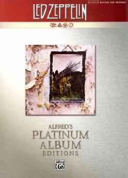 Led Zeppelin IV Platinum Guitar: Authentic Guitar Tab (Paperback)