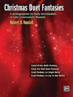 Christmas Duet Fantasies (Paperback)