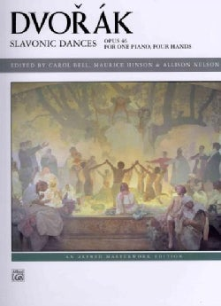 Slavonic Dances, Opus 46: For One Piano, Four Hands (Paperback)