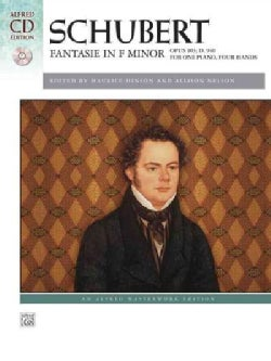 Schubert Fantasie in F Minor: Opus 103; D. 940, for One Hand, Four Hands
