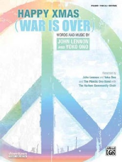 Happy Xmas (War Is Over): Piano/Vocal/Guitar, Sheet (Paperback)