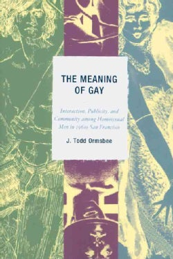 The Meaning of Gay: Interaction, Publicity, and Community Among Homosexual Men in 1960s San Francisco (Paperback)