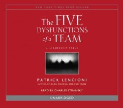 The Five Dysfunctions of a Team (CD-Audio)