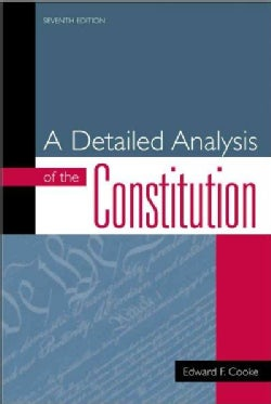 A Detailed Analysis of the Constitution (Paperback)