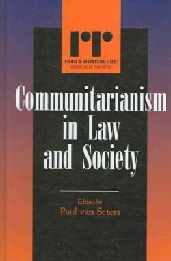 Communitarianism in Law And Society (Hardcover)