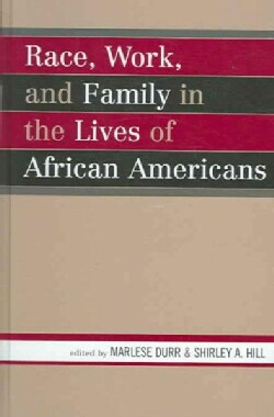Race, Work, And Family in the Lives of African Americans (Hardcover)