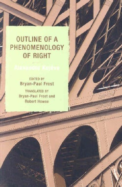 Outline of a Phenomenology of Right (Paperback)
