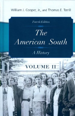 The American South: A History (Hardcover)