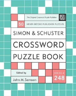 Simon And Schuster Crossword Puzzle Book: New Challenges In The Original Series Containing 50 Never-Before-Publis... (Paperback)