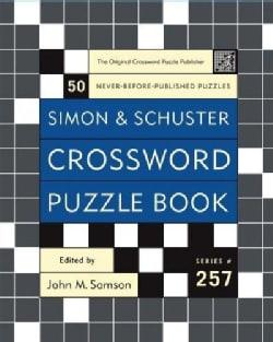 Simon & Schuster Crossword Puzzle Book (Paperback)