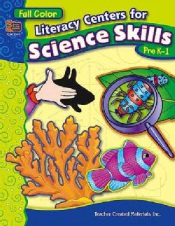 Literacy Centers for Science Skills (Paperback)
