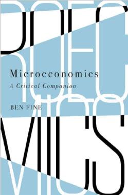 Microeconomics: A Critical Companion (Paperback)