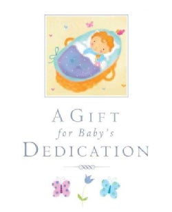 A Gift for a Baby's Dedication (Hardcover)