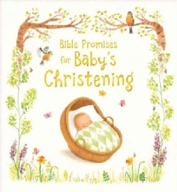 Bible Promises for Baby's Christening (Hardcover)
