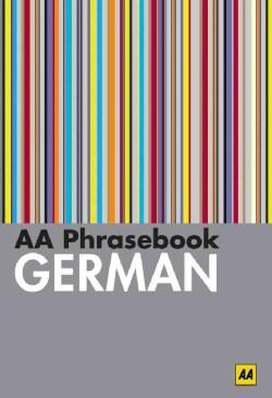 AA Phrasebook German (Paperback)