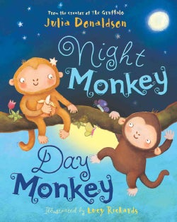 Night Monkey Day Monkey (Paperback)