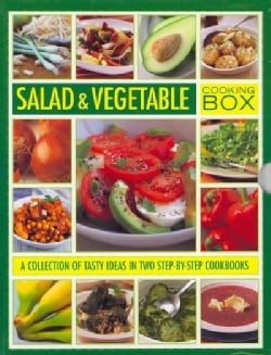 Salad & Vegetable Cooking Box: A Collection of Tasty Ideas in Two Step-by-Step Cookbooks (Hardcover)