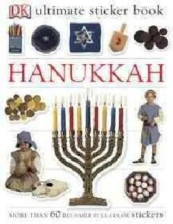 Hanukkah: more than 60 reusable Full-color stickers (Paperback)