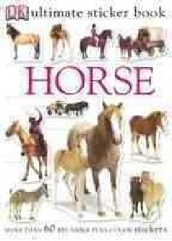 Horse: More than 60 reusable full-color stickers (Paperback)