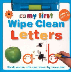 My First Wipe Clean: Letters (Board book)