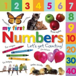 My First Numbers: Let's Get Counting! (Board book)