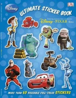 Disney Pixar Ultimate Sticker Book (Paperback)