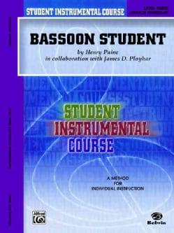 Bassoon Student: Level Three Advenced Intermediate (Paperback)
