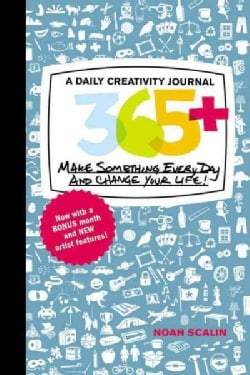 365: A Daily Creativity Journal, Make Something Everyday and Change Your Life! (Record book)