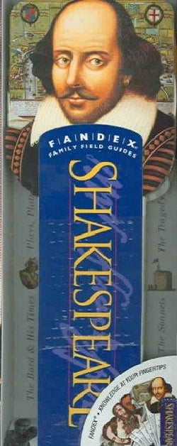Shakespeare: Fandex Family Field Guides (Hardcover)