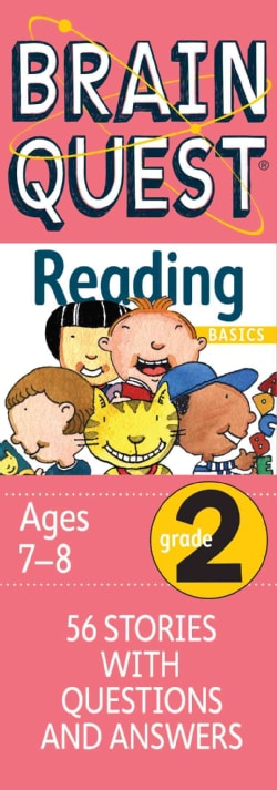 Brain Quest Grade 2 Reading Basics: 56 Stories With Questions & Answers, Ages 7-8 (Cards)