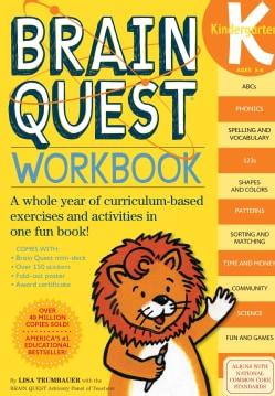 Brain Quest Workbook Kindergarten (Paperback)