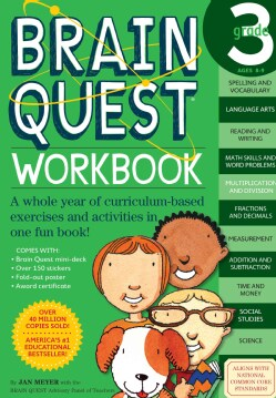 Brain Quest Workbook Grade 3 (Paperback)