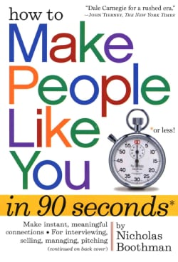 How to Make People Like You in 90 Seconds or Less (Paperback)