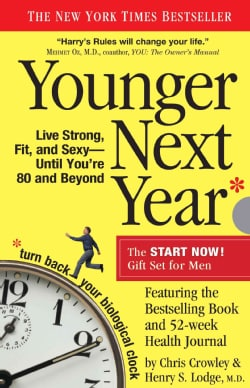 Younger Next Year: The Book & Journal Gift Set for Men (Notebook / blank book)