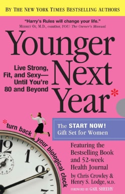 Younger Next Year: The Book & Journal Gift Set for Women (Notebook / blank book)