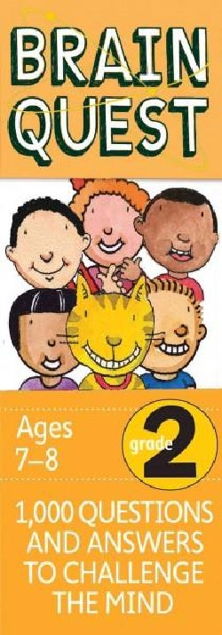 Brain Quest Grade 2: 1,000 Questions and Answers to Challenge the Mind (Cards)