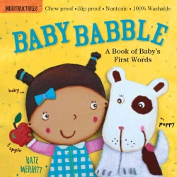 Baby Babble: A Book of Baby's First Words (Paperback)
