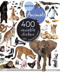 Eyelike Stickers: Animals (Paperback)