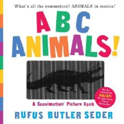 ABC Animals!: A Scanimation Picture Book (Hardcover)