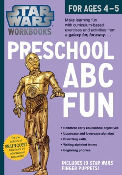 Star Wars Workbooks - Preschool ABC Fun!: For Ages 4-5 (Paperback)