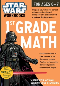 Star Wars Workbook - Grade 1 Math! (Paperback)