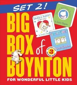 Big Box of Boynton Set 2!: Snuggle Puppy! Belly Button Book! Tickle Time! (Board book)