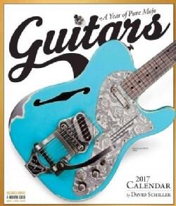 Guitars 2017 Calendar (Calendar)