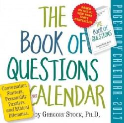 The Book of Questions 2017 Calendar (Calendar)