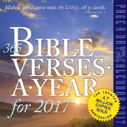 365 Bible Verses-a-year 2017 Calendar (Calendar)