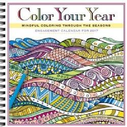 Color Your Year Engagement Calendar 2017 (Calendar)